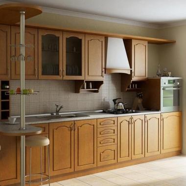 Кухни с фасадами ПВХ